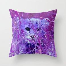 Cheetah_2014_0817 Throw Pillow