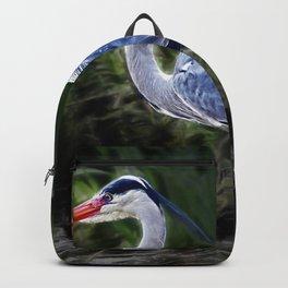 Grey Heron Backpack
