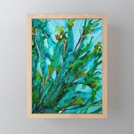 Greenery Framed Mini Art Print