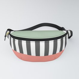 Stripes Geometric Fanny Pack