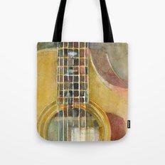 Acoustic Guitar - Taylor Tote Bag