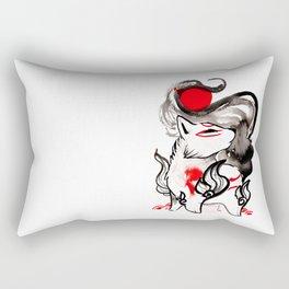 Chibi Amaterasu Okami II Rectangular Pillow