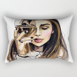Wednesday Rectangular Pillow