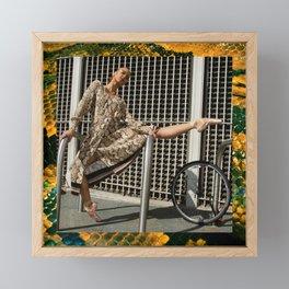 Snake Charmer Framed Mini Art Print