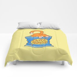 Cheese Balls Comforters