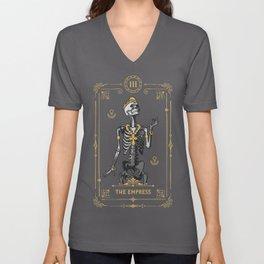 The Empress III Tarot Card Unisex V-Neck