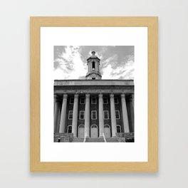 Penn State Old Main #1 Framed Art Print