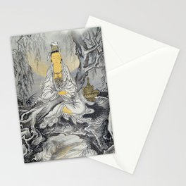 Kawanabe Kyosai - White-robed Kannon - Digital Remastered Edition Stationery Cards