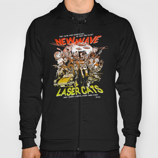 New Wave Laser Cats Hoody