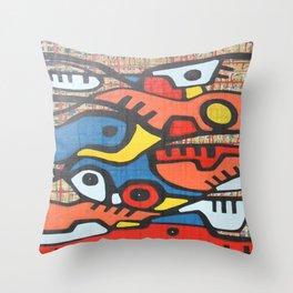 CAMINOS Y MONTAÑAS Throw Pillow