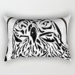 The Falcon Painting Rectangular Pillow