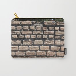 Texture natural stone masonry and paving Carry-All Pouch