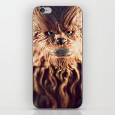 Not Wise To Upset A Wookie iPhone & iPod Skin