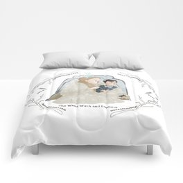 The White Witch and Edmund Comforters