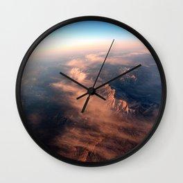 Sky High Sunrise Wall Clock