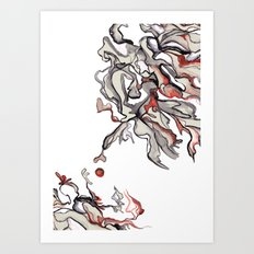 Apple of Discord Art Print