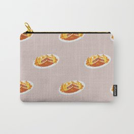 What I miss the most: Food Pattern Carry-All Pouch