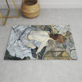 Henri De Toulouse Lautrec -  Rousse Rug