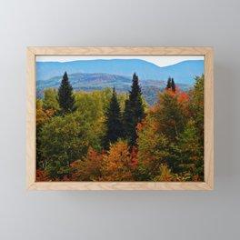 Mont Albert From Afar Framed Mini Art Print