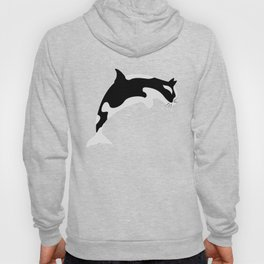 Orca Cat Funny Water Animal Gift Hoody