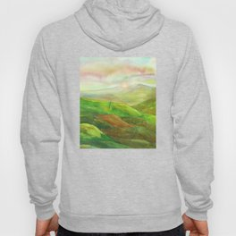 Lines in the mountains XVI Hoody