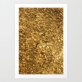 Golden Treasure Art Print