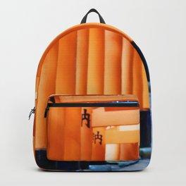 The Orange Torii Gates at Fushimi Inari Taisha, Kyoto Backpack