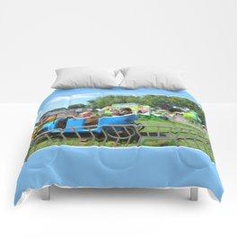 Jalopy Junction 2 Comforters