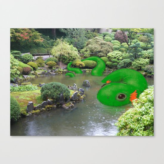 Dragonmander Canvas Print