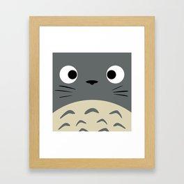 Curiously Troll ~ My Neighbor Troll Framed Art Print