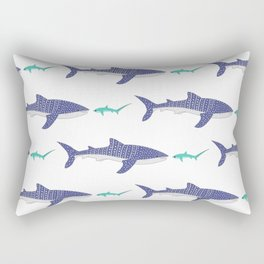 Shark Bros 4 Rectangular Pillow