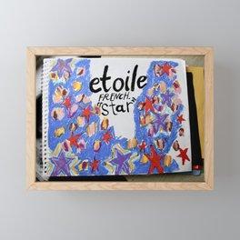 etoile Framed Mini Art Print