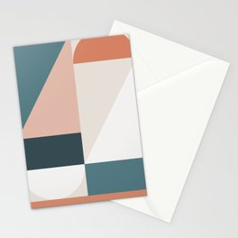 Cirque 01 Abstract Geometric Stationery Cards