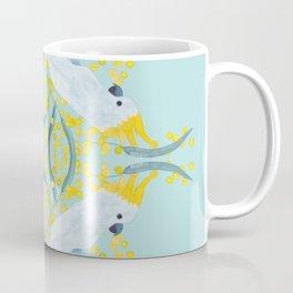 Blue Cockatoos Coffee Mug