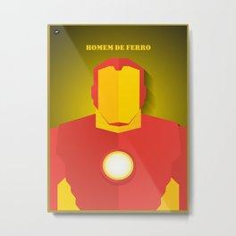 Homem de Ferro Metal Print