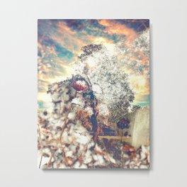 Snow, Sunshine and Sky Metal Print