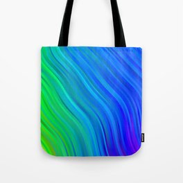 stripes wave pattern 1 stdv Tote Bag
