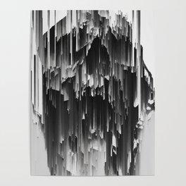 Skull Liquify Poster