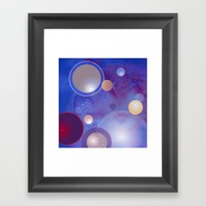 Empty Space Framed Art Print