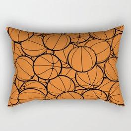 Hoop Dreams II Rectangular Pillow