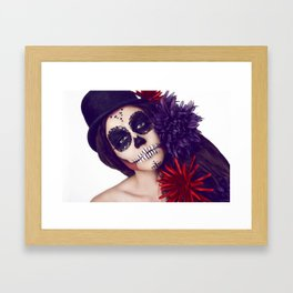 The clown you never wanted Framed Art Print