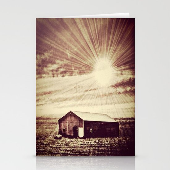 The shack Stationery Cards
