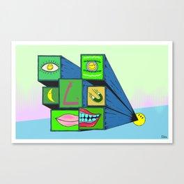 MANY FACE Canvas Print