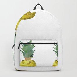 pineapple 1x3 pattern, fill, repeating, tiled | elegant Backpack