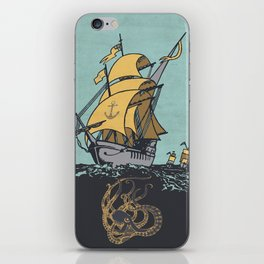 The Secrets of the Sea iPhone Skin