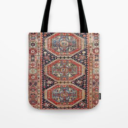 Kuba Sumakh Antique East Caucasus Rug Print Tote Bag