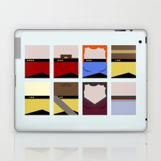 Enterprise 1701 D - Minimalist Star Trek TNG The Next Generation - startrek - Trektangles  Laptop & iPad Skin