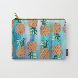 Pineapple Beach Aqua Carry-All Pouch