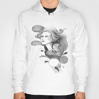 beethoven Hoodies featuring Beethoven by Wendy Ding: Illustration