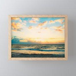 Cloudy Morning In The Sunshine State (III) Framed Mini Art Print